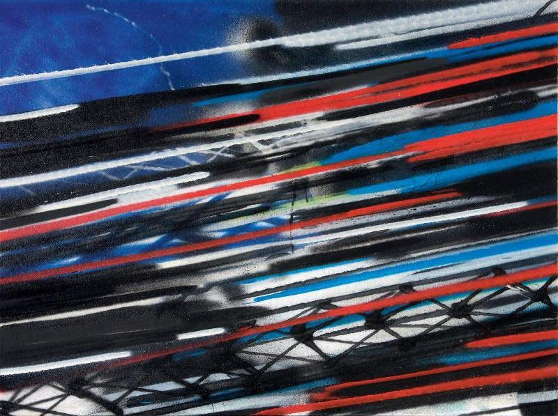 Futura - American Pie, 2010 (76 x 101 cm)