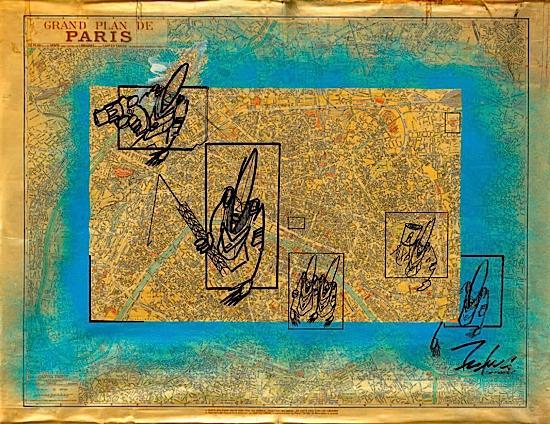 Futura-Grand Plan de Paris des Annees 50-1988
