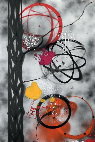 Futura - Nacho, 2013 (91.5 x 61 cm)