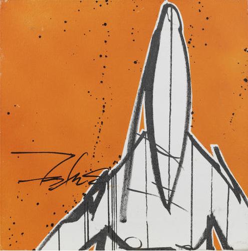 Futura-Pointman Orange-2007