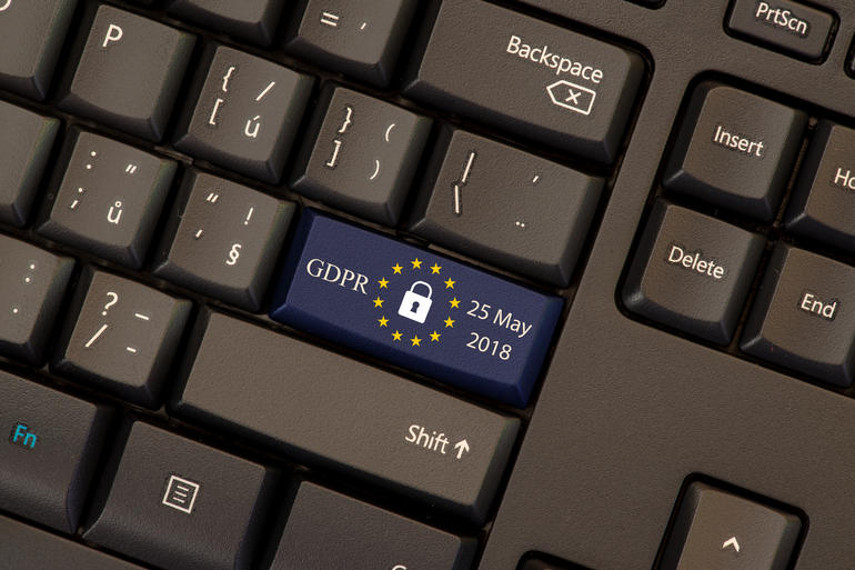GDPR Keyboard, via zdnet.com