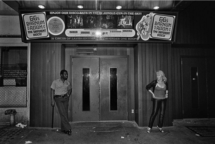 GG's Barnum Room Entrance, 1979 museum new york city