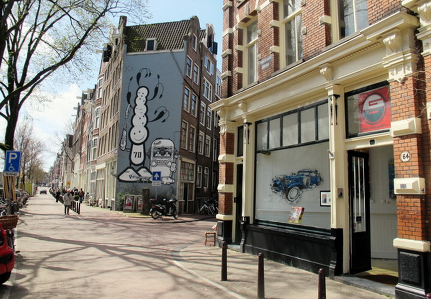 Amsterdam, street, new, city