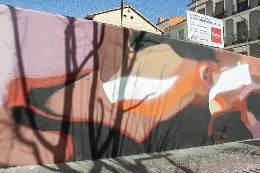 GVIIIE Mural Urvanity Art Madrid 2020