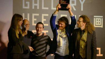 GWBJ Galleria Continua winning Best Gallery Exhibition Award