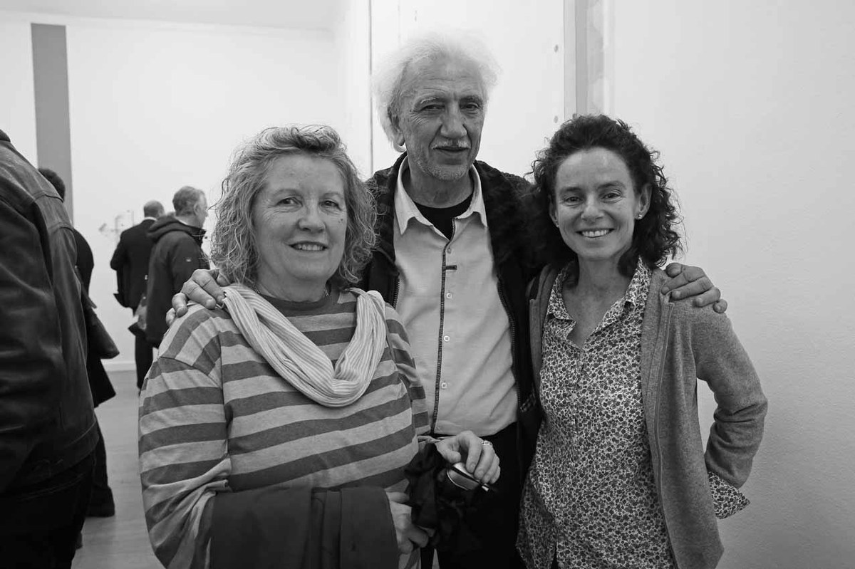 Gaétane and Roland Botrel with Laurence Climbeau, by Michel Lunardelli