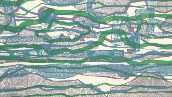 Gabor Peterdi - The Reef, 1969 (detail)