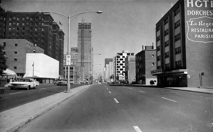 Gabor Szilasi - Montreal Center - 1961 Photo Credits bilan.usherbrooke.ca