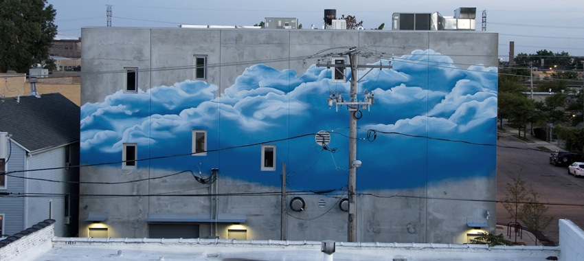 Gabriel Specter - Cloud Structure - Chicago, Illinois, 2013 - new work - street graffiti