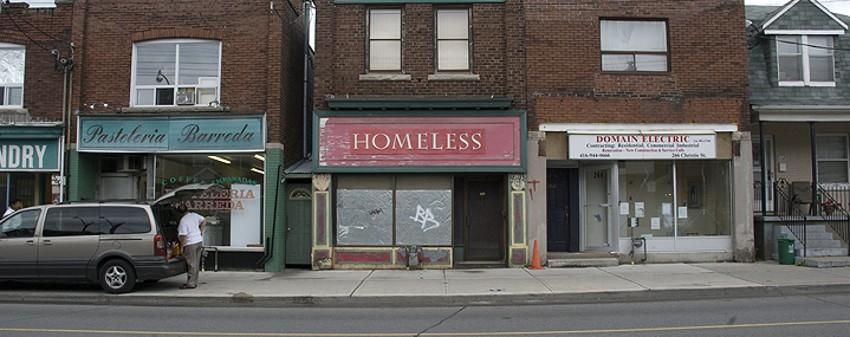 Gabriel Specter - Homeless - Toronto, Canada, 2008