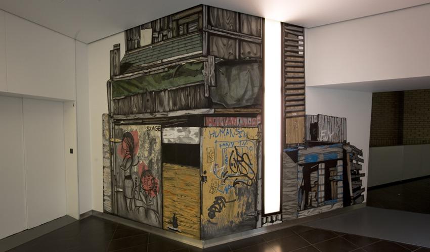 Gabriel Specter - installation at Royal Ontario Museum in Toronto, Canada - 2009