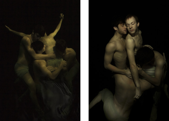 Gabriele Viertel - Resurrection - In a Spirit - 2015 (Left) / Resurrection - The Beloved One (Right) - 2015