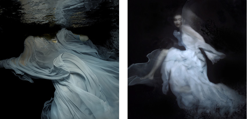 Gabriele Viertel - Storm - Devotion - 2014 (Left) / Something Blue - 2014 (Right) - vogue