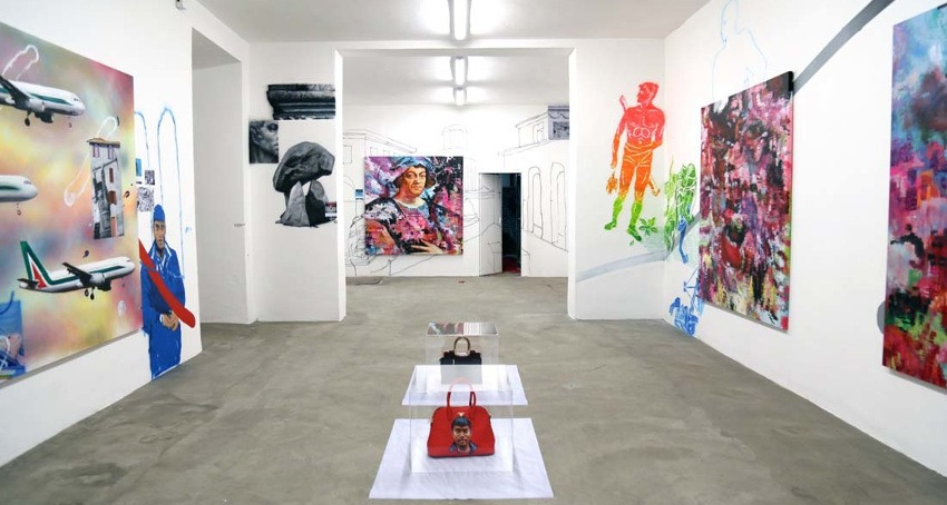 Support gaia's street art work on his gallery page