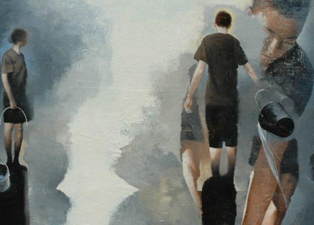 Gary Ruddell - Blue Money (detail) - Copyright Gary Ruddell