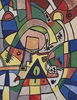Gaston Chaissac-Sans titre-1950