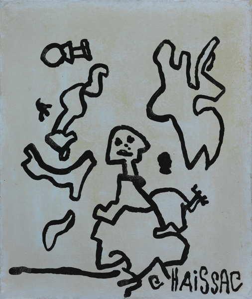 Gaston Chaissac-Untitled-1962