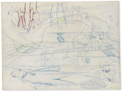 Gastone Novelli-Le Palace N. 1-1962