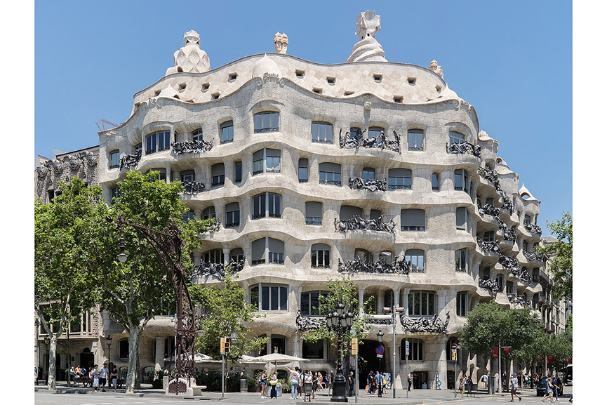Gaudi architecture - Casa Mila