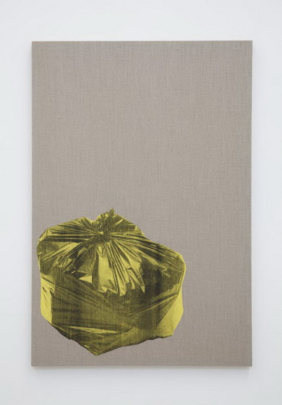 Gavin Turk - Bin Bag on Linen