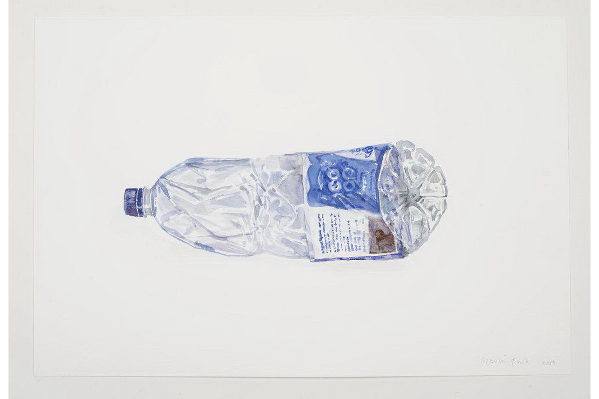 Gavin Turk - Water Bottle Bottle