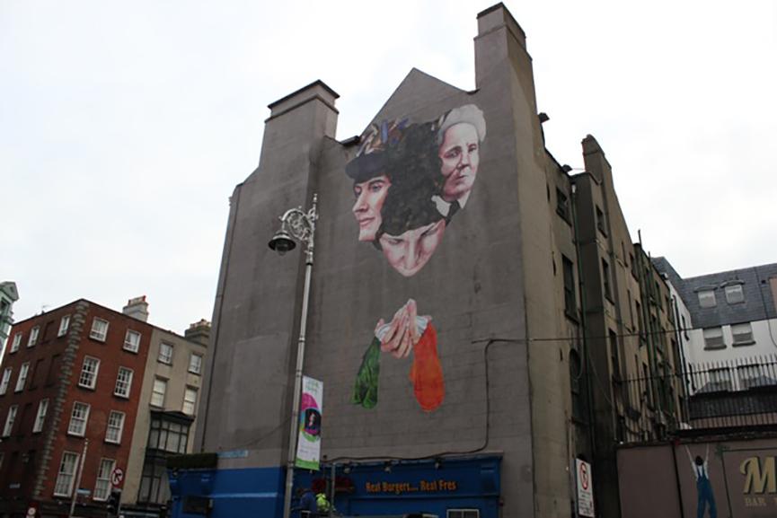 Gearoid O'Dea mural 2