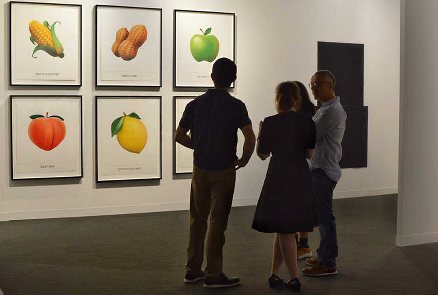 Gemini G.E.L, installation view. Photo by Lisa Morales