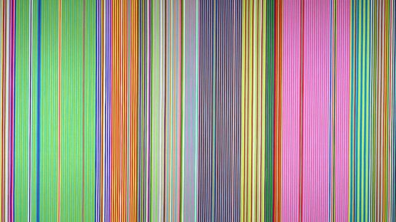 Gene Davis - Raspberry Icicle (detail), 1967, photo credits - Wikiart