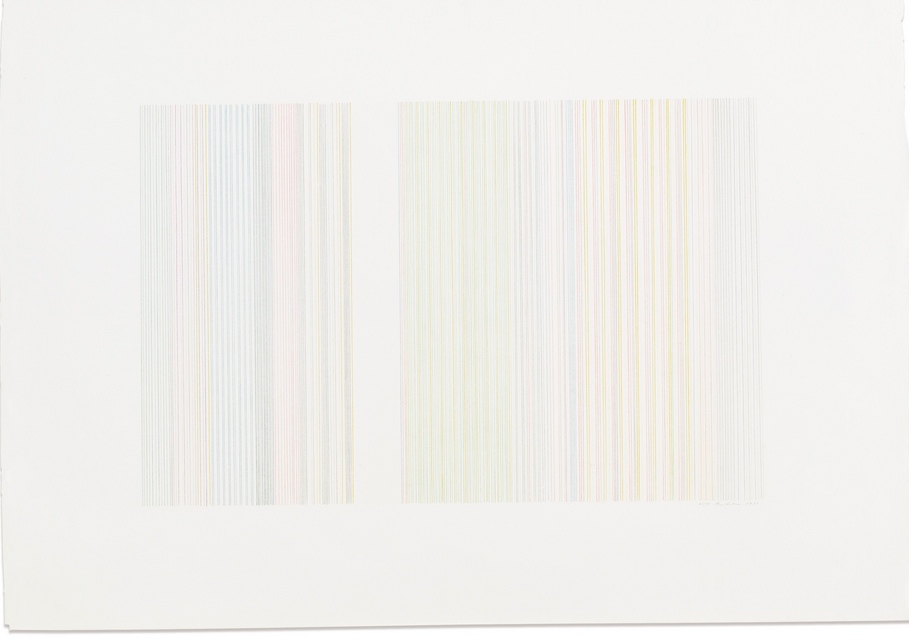 Gene Davis-Untitled-1973