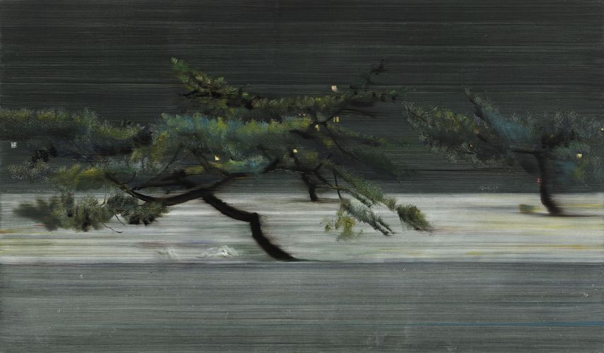 Geng Defa - Pine NO.6, 2019. Jinse Gallery
