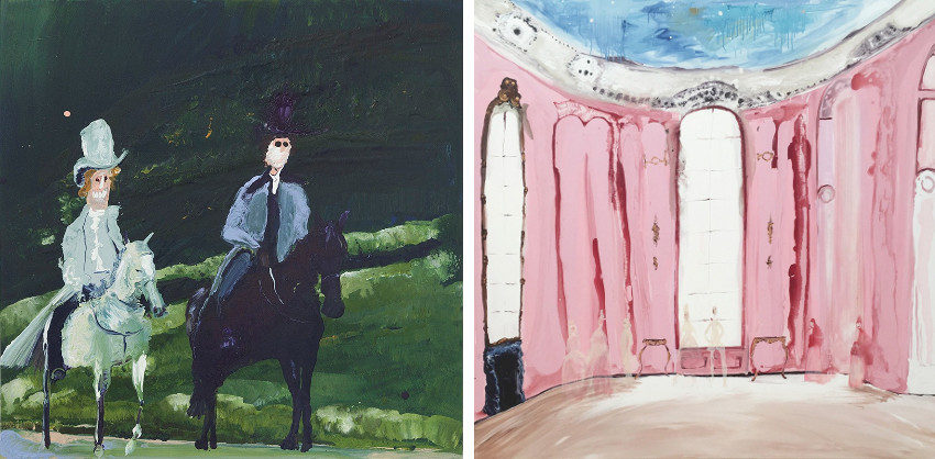 Genieve Figgis creates at home and her use of visual terms is astonishing