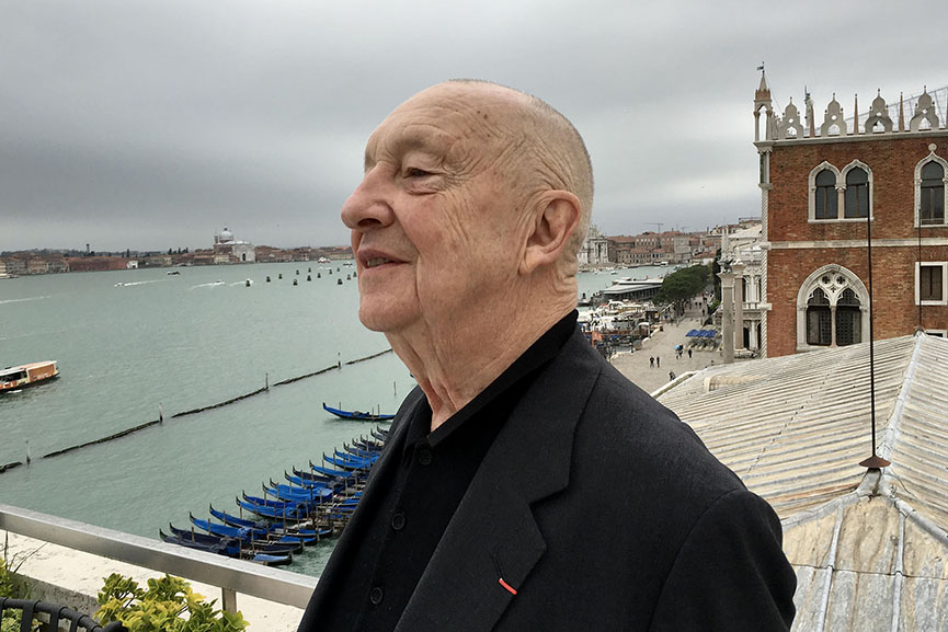 Georg Baselitz, 2018 Photo Daniel Blau