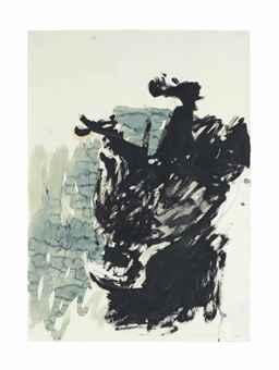 Georg Baselitz-Adler, 1977 (Eagle, 1977)-1977