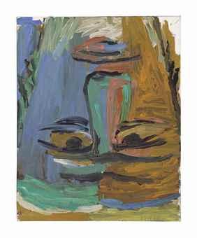 Georg Baselitz-Der Abgarkopf (The Head of Abgar)-1984