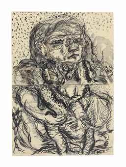 Georg Baselitz-Der neue Typ (The New Type)-1967