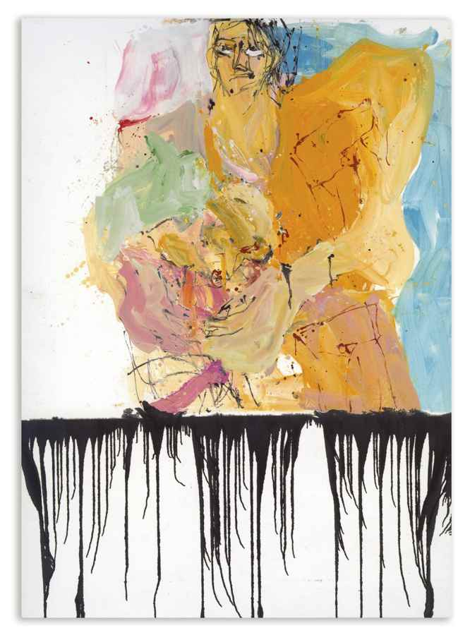 Georg Baselitz-Es War Einmal Und Zuruck (Once Upon A Time And Back)-2010
