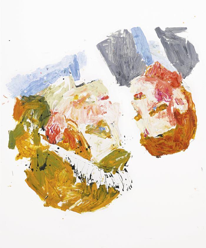 Georg Baselitz-In Der Werkskantine-2001