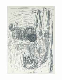 Georg Baselitz-Ohne Titel, 20.XII.1985 (Untitled, 20.XII.1985)-1985