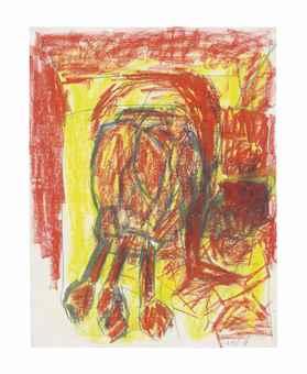 Georg Baselitz-Untitled 19.VI.88-1988