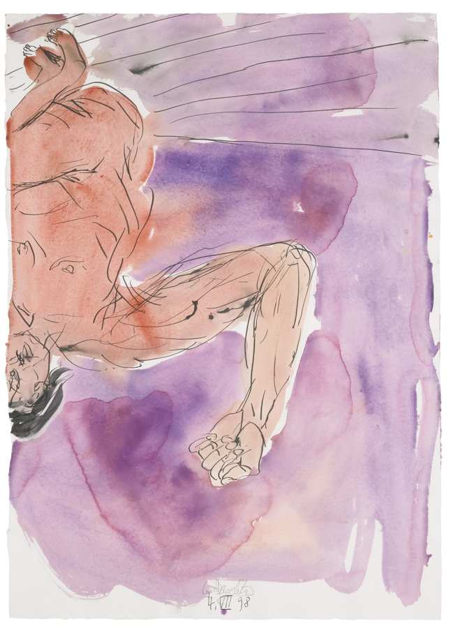 Georg Baselitz-Untitled-1998