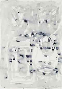 Georg Baselitz-Untitled (Blick aus dem Fenster)-1982