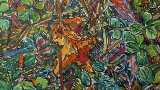 George Chemeche - Composed Flower Garden, ca 1979 (detail)