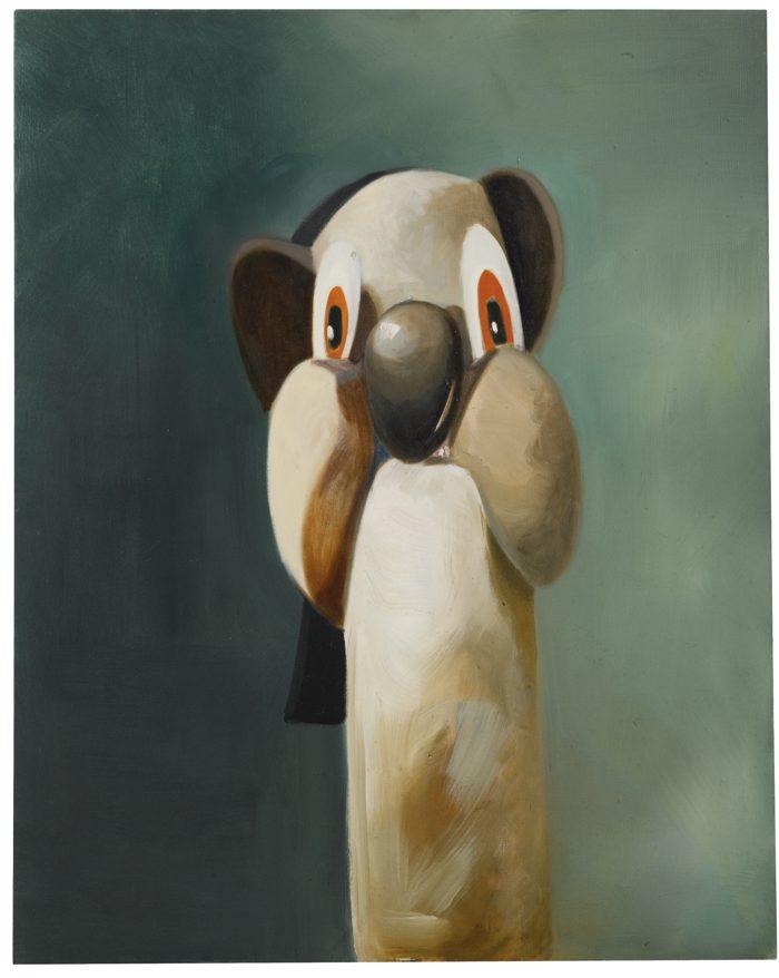 George Condo-Barney-1996