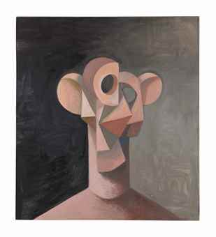 George Condo-Constructed Head-2011