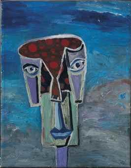 George Condo-Untitled-1987