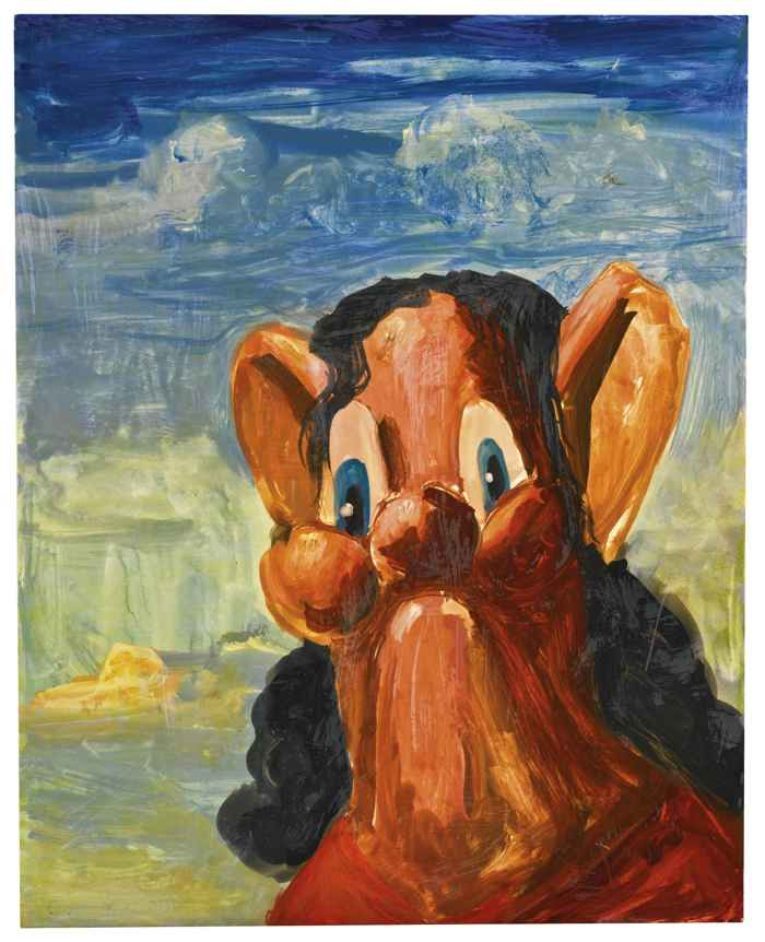 George Condo-Untitled-