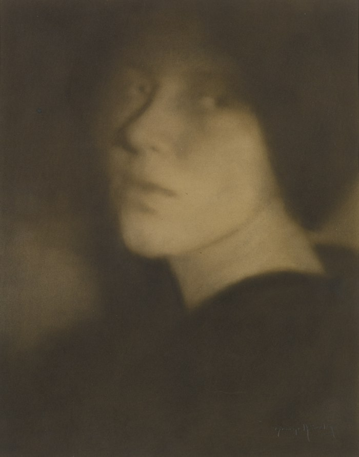 George H. Seeley-Portrait Of Laura-1910