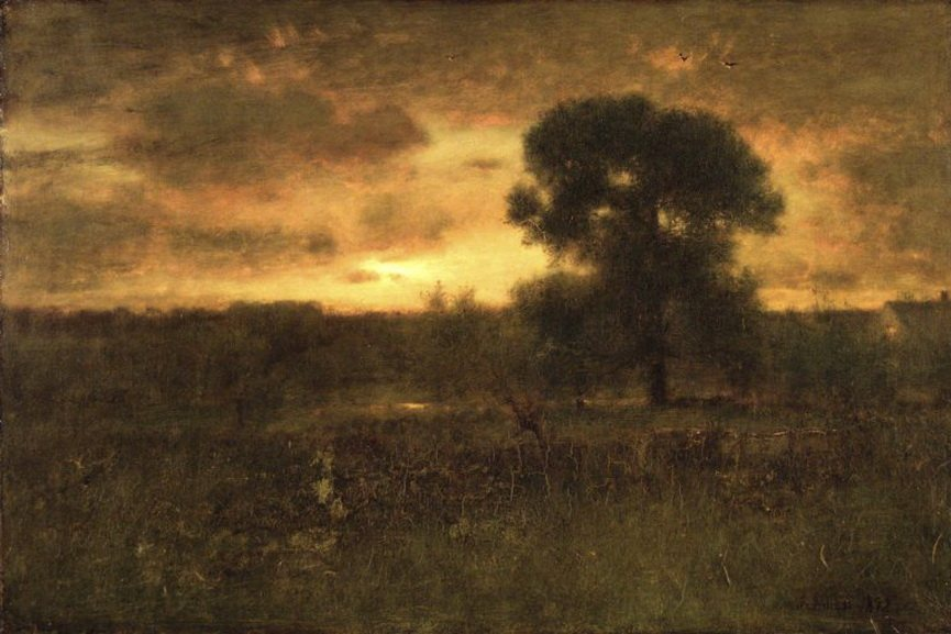 George Inness - Sunrise