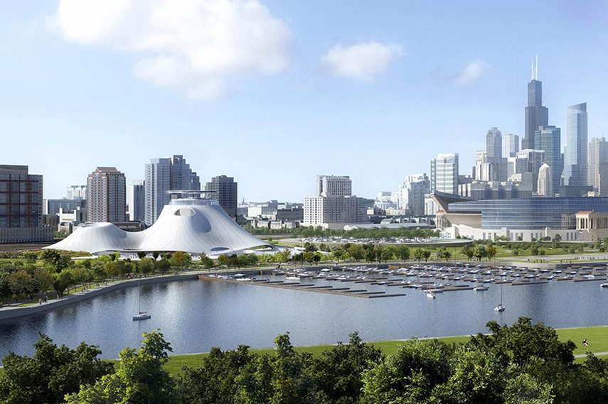 Lucas Museum Chicago public policy space new design news lakefront privacy museum lucas policy