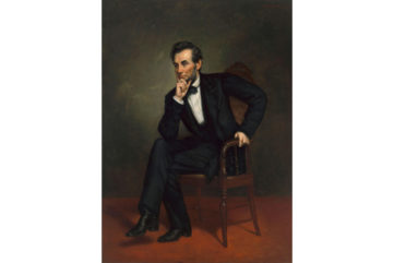 George Peter Alexander Healy - Abraham Lincoln, Oil on canvas, 1887, washington national presidents new search washington national presidents new search politics politics national 2018